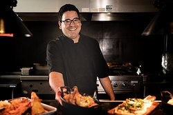 Executive Chef Gil Amador at Waterlin Coffee Bar & Bistro in Menomonee Falls, WI