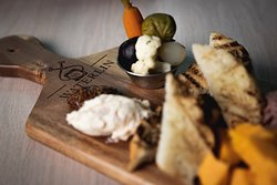 Classic WI Supper Club Board  at Waterlin Coffee Bar & Bistro in Menomonee Falls, WI