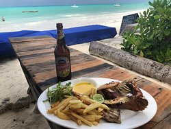 Great beach spot for lunch
