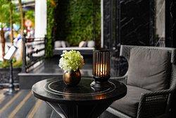 This is the Lobby lounge - reception area of La Sinfonía del Rey Hotel.