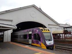Vlocity train on Platform 2