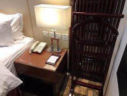 Bedside unit in standard double room
