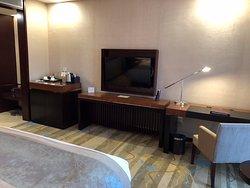 TV in standard double room