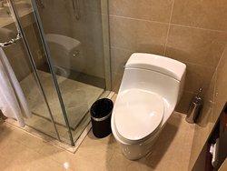 Toilet in standard double room