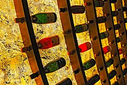 Taittinger Champagne Wall