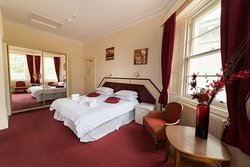 Double room at the Devonshire Hotel