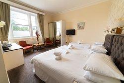 Treble room at the Devonshire Hotel