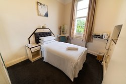 Single room at the Devonshire Hotel