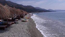 praia grande e extensa