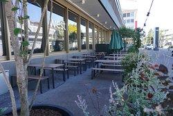 Sidewalk tables
