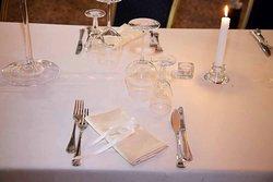 Tavoli pronti per il matrimonio di Laura e Daniele