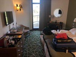 Room (with teeny balcony)