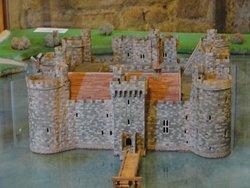 A Model of Bodiam Castle