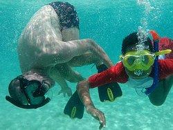 Snorkeling in Anguilla !