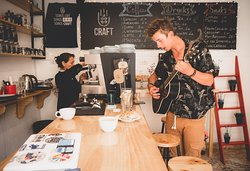 Craft Coffee and Beer