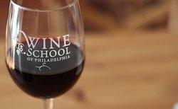 The wine school custom glassware