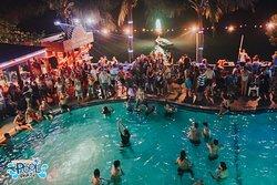 The original pool party, Koh Phangan