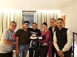 Suprise from Mitha, Heru, Vikri, and Rudolf...Thanks, guys