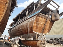 Visit the Traditional Dhow makers.