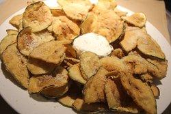 Crispy Zucchini and Eggplant Chips