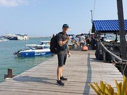 This is the biggest pier to Koh Samet.