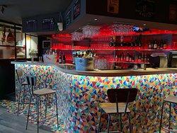 Notre bar multicolore