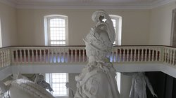 Parte de cima da estátua de D. José I