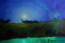 Banff artist Michael Cameron