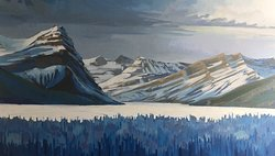 Canmore artist Chrissy Nickerson