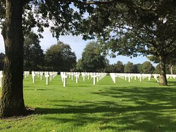 Emotionally beautiful D-Day cemetery