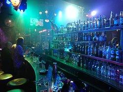 Massive selection of premium spirits on offer