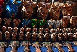 Torito de Pucará - malí býčci pro štěstí