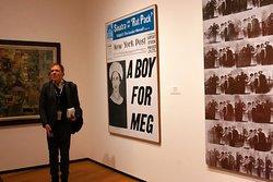 Stephen giving his Modern Art Tour