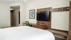 Includes 49inch Smart TV and Large work desk guests can connect to fast fiber speed IHG Connect Wifi