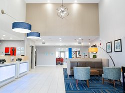 Lobby provides a laid back area to check in or relax