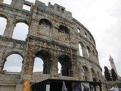 Colosseum in Pula, Croatia