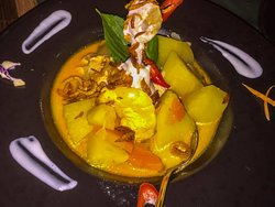 One of Chef's fabulous creations, Thai or Western as you choose