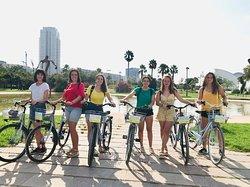 Fun rides in the Turia Park