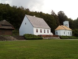 House and Ortodox church of Tesla´s father who was a priest