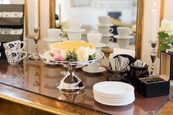 The coffee break is waiting for you @ Mauritzbergs Slott & Golf