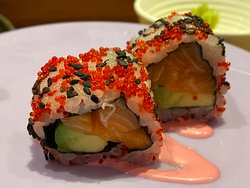 One of the Sushi Rolls