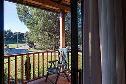 Vista desde el balcon/terraza de la habitación.