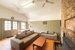 Log Cabin - Living Area