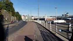 Nice wide bike lanes
