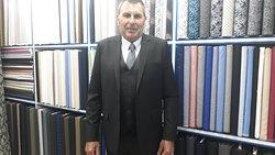 Cashmere wool suit with vest coat