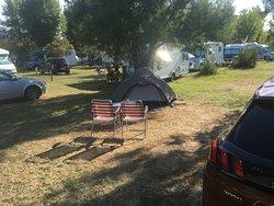 plek op de camping