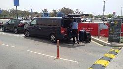 taxi at larnaca airport