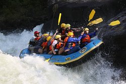 Great white water trip on the Upper Gauley with River Expeditions!