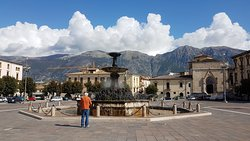 Der Brunnen 'Fontana del Vecchio'