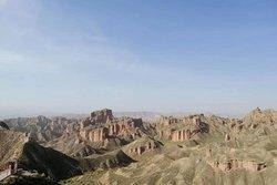Binggou Danxia Scenic Area